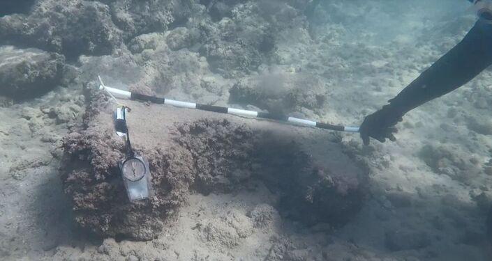 Scienziati della Sevastopol State University hanno scoperto le rovine di un antico porto romano