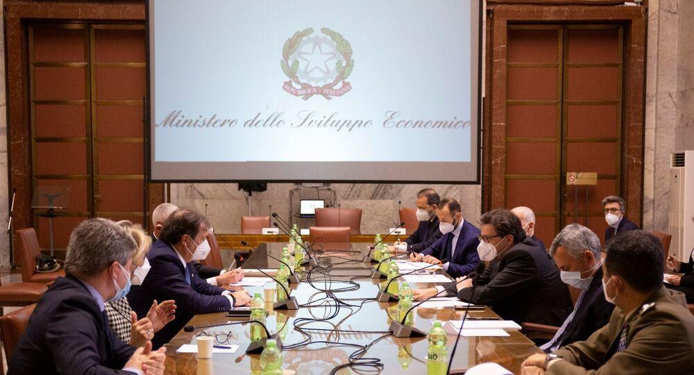 Il Ministro Giorgetti ha incontrato Farmindustria e Aifa, insieme al Commissario Figliuolo e al Sottosegretario Gabrielli