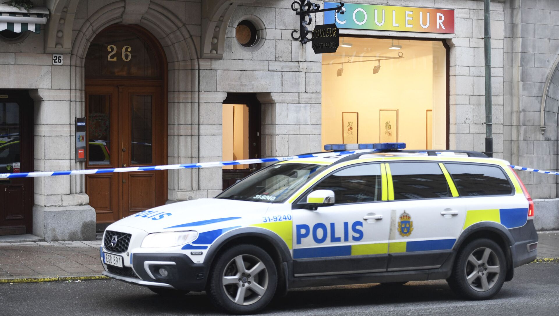 Macchina della polizia in Svezia - Sputnik Italia, 1920, 30.04.2021