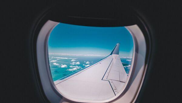 airplane window view - Sputnik Italia