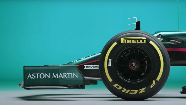 F1, Aston Martin lancia la sua nuova auto 60 anni dopo la precedente - Sputnik Italia