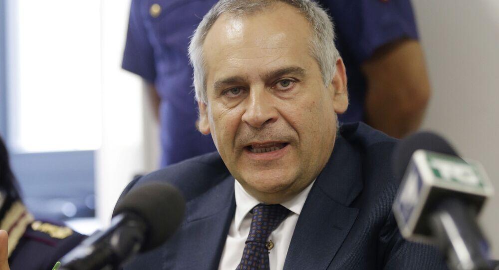 Lamberto Giannini, il capo della polizia