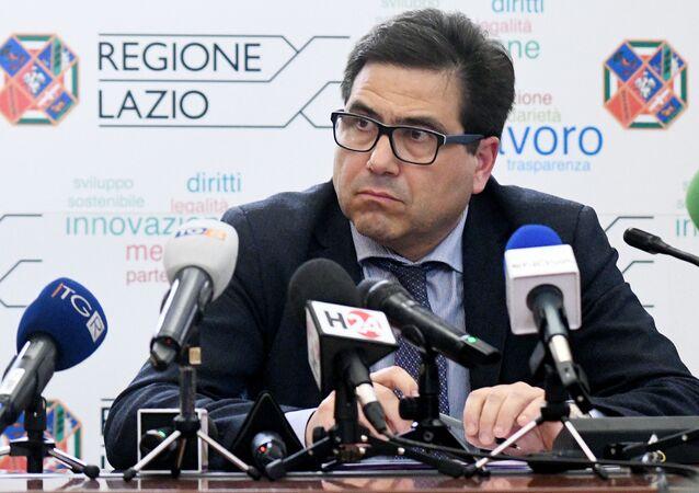 Alessio D'Amato assessore sanità regione Lazio