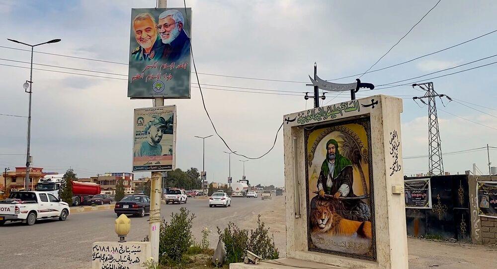 Propaganda sciita attorno alla città cristiana di Bardella