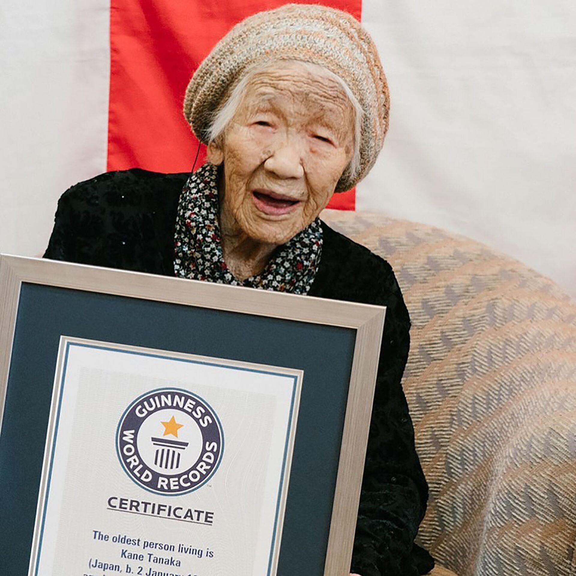 118 anni ed essere tedofora alle Olimpiadi di Tokyo 2020 (2021) - Foto - Sputnik Italia, 1920, 05.03.2021