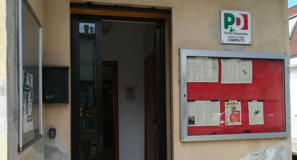 Sede del Partito PD italiano