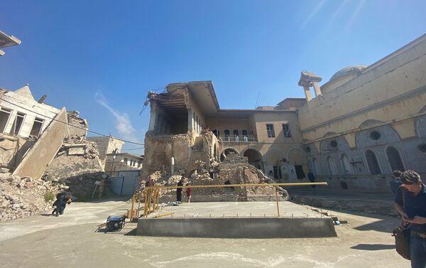 Edifici distrutti a Mosul - Sputnik Italia