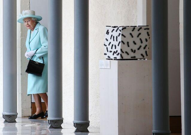 La regina Elisabetta II della Gran Bretagna