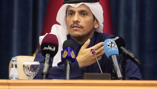 Il ministro degli Esteri del Qatar Mohammed bin Abdulrahman bin Jassim Al Thani - Sputnik Italia