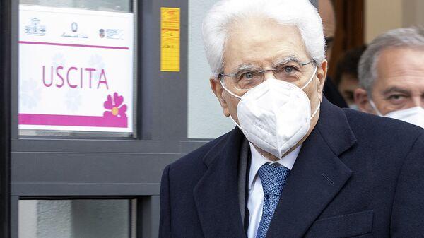 Il presidente Mattarella allo Spallanzani di Roma per sottoporsi al vaccino - Sputnik Italia