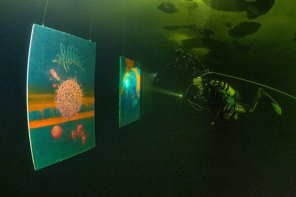 Questa è la prima galleria d'arte subacquea al mondo - Sputnik Italia