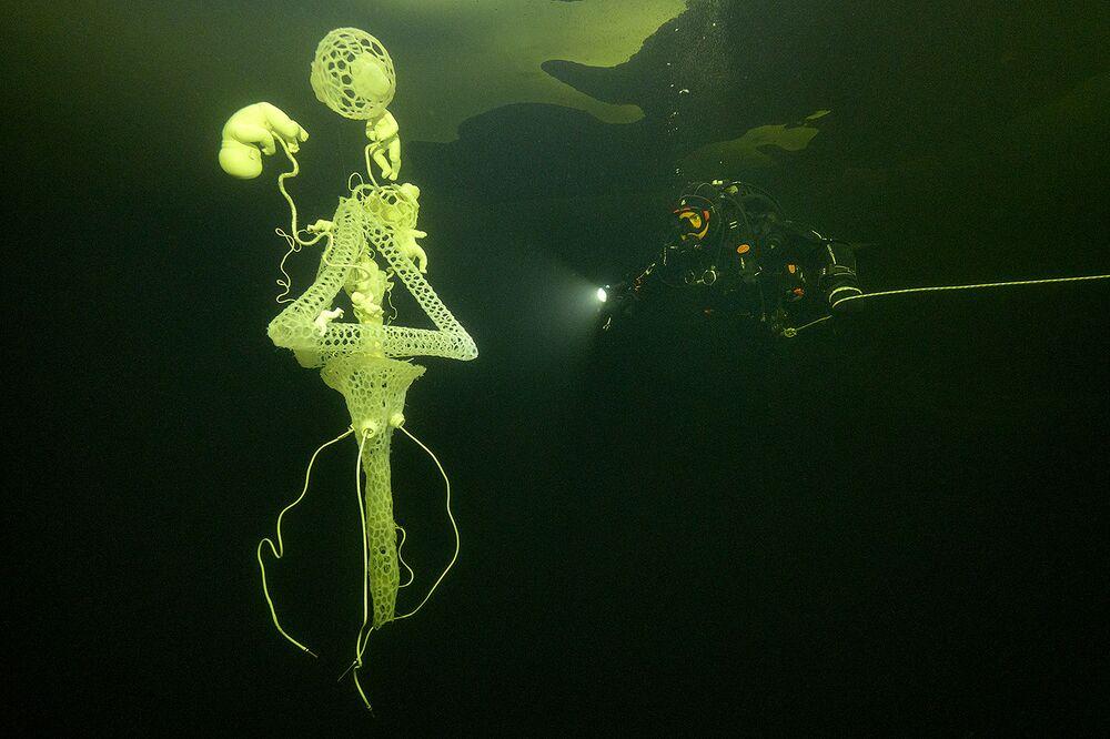 Alla mostra hanno già partecipato subacquei provenienti da Russia, Cina, Germania e Francia
