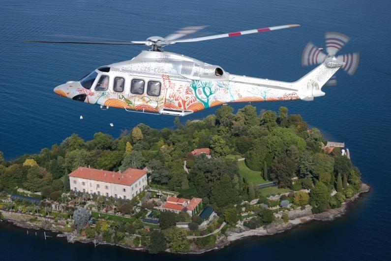 Elicottero Leonardo AW139