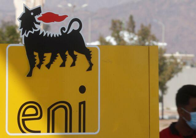 Logo aziendale di Eni