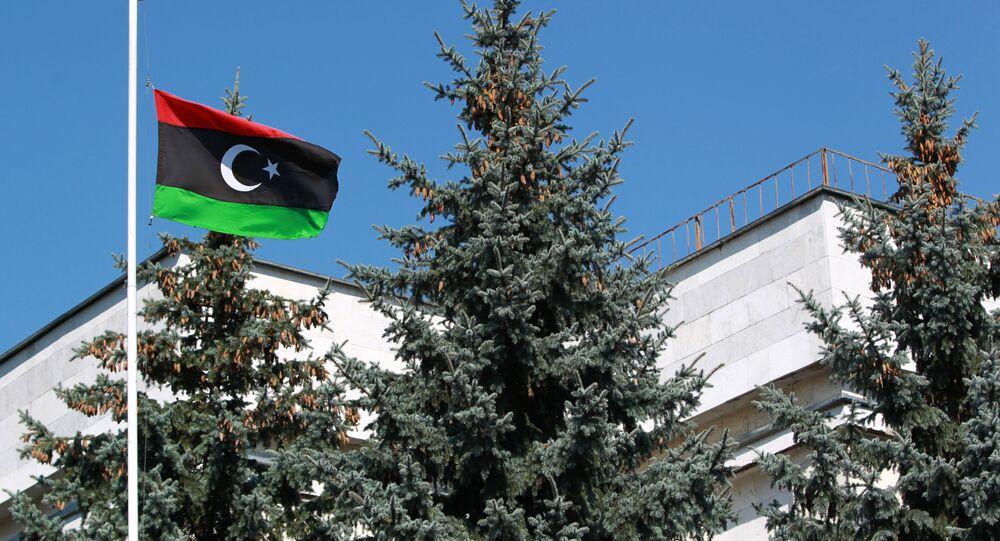Bandiera della Libia (foto d'archivio)