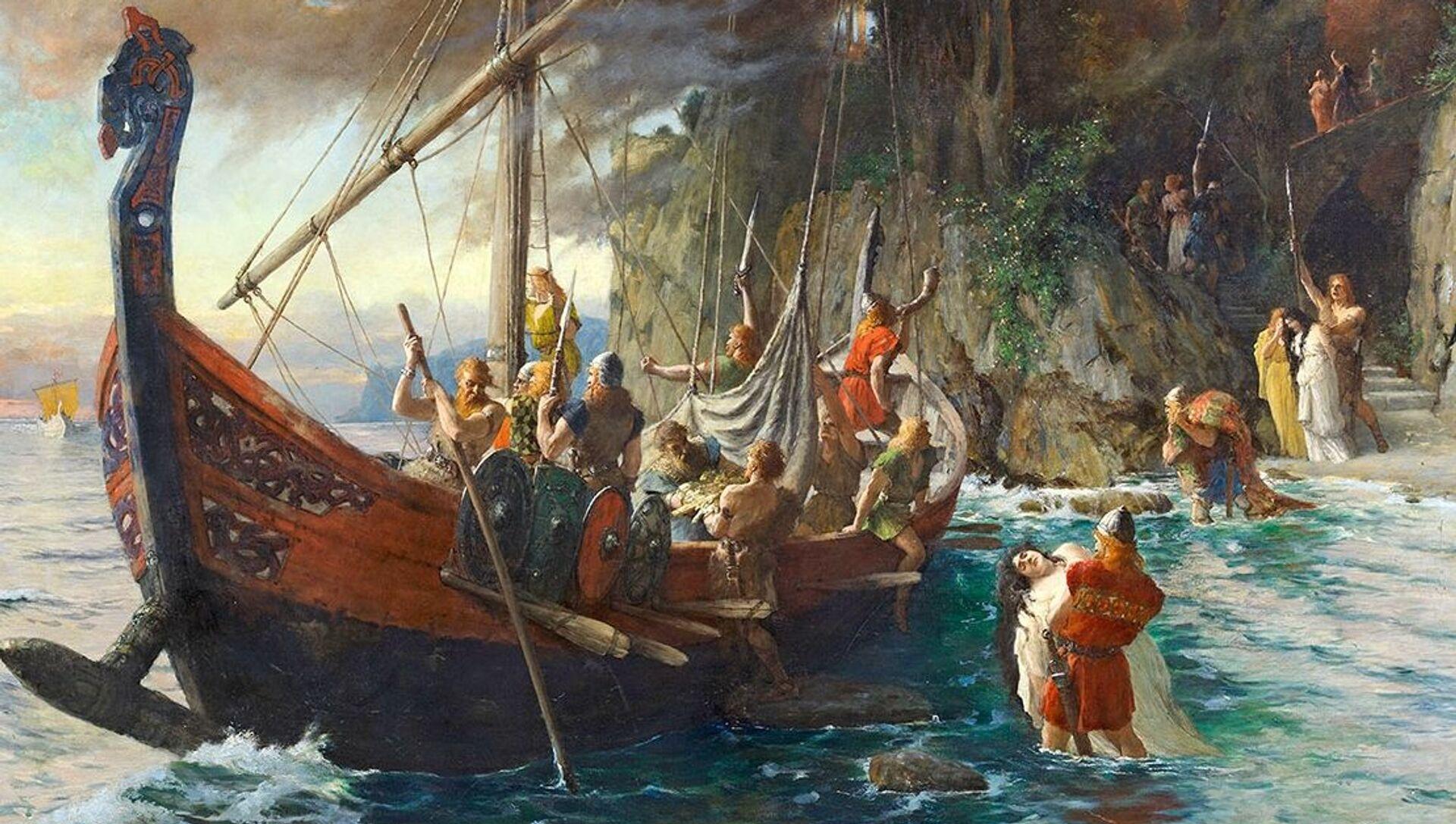 Trovata la casa della leggendaria donna vichinga che attraversò Atlantico 500 anni prima di Colombo - Sputnik Italia, 1920, 11.03.2021