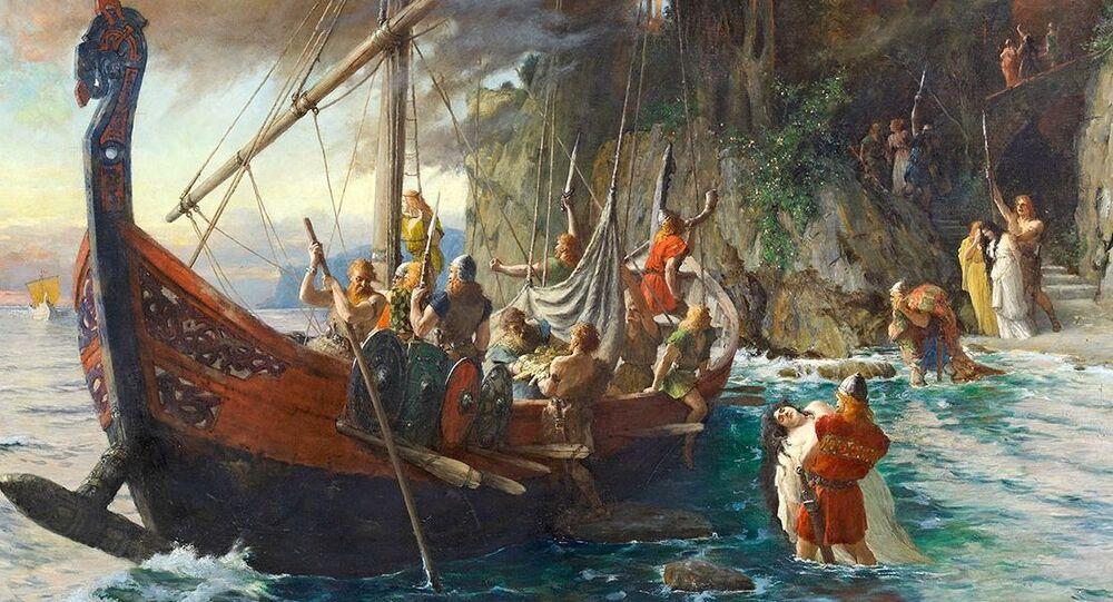 L'incursione dei vichinghi di Ferdinand Leeke