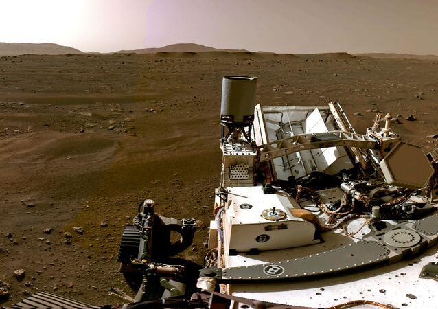 Perseverance su Marte