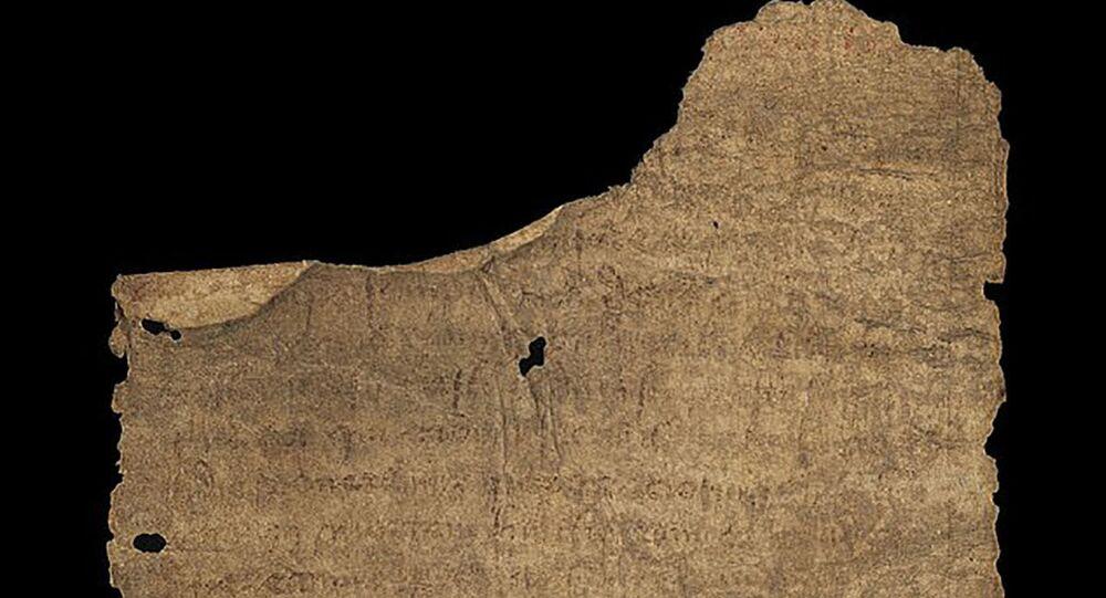 Antica pergamena rivela come nel Medio Evo combattevano i dolori del travaglio e parto