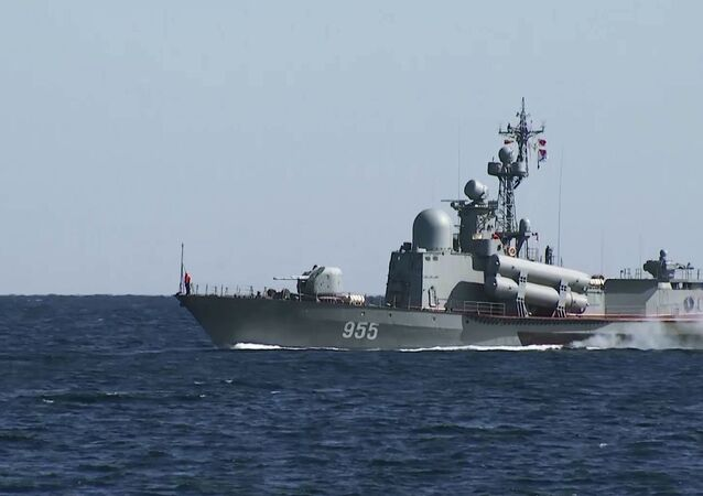 Nave della Flotta russa del Mar Nero (foto d'archivio)