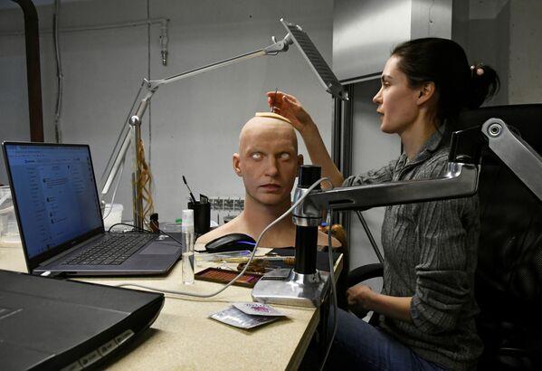 Centro per la modellazione di robot umanoidi a Vladivostok, Russia - Sputnik Italia