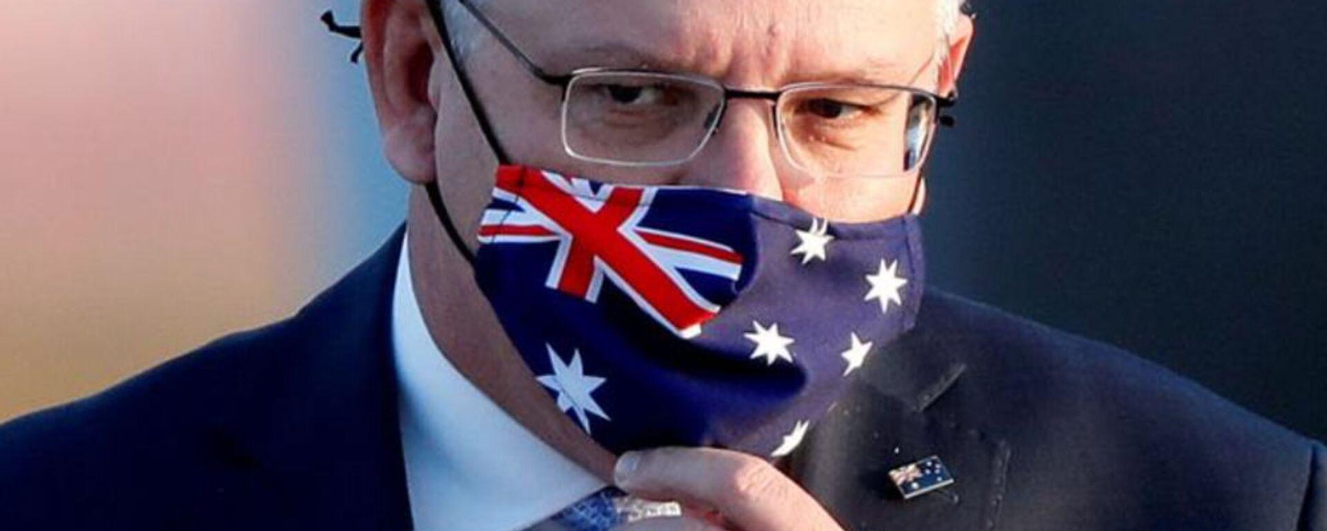 Primo ministro dell'Australia Scott Morrison - Sputnik Italia, 1920, 30.04.2021