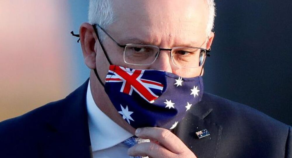 Primo ministro dell'Australia Scott Morrison
