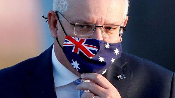 Primo ministro dell'Australia Scott Morrison - Sputnik Italia