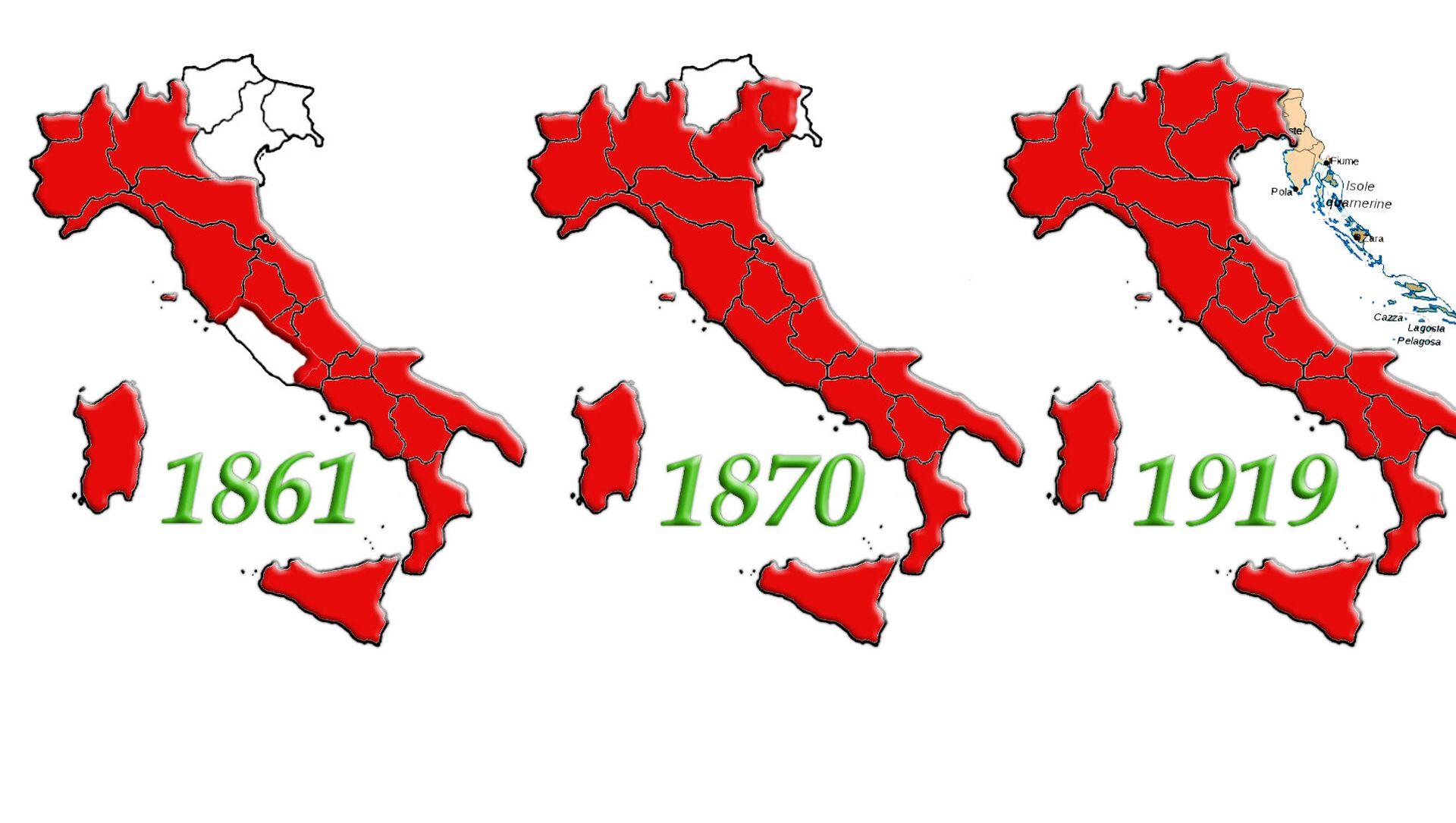 Evoluzione dell'Unità d'Italia dalla proclamazione del Regno alla Conferenza di Parigi dopo la Prima Guerra Mondiale - Sputnik Italia, 1920, 17.03.2021
