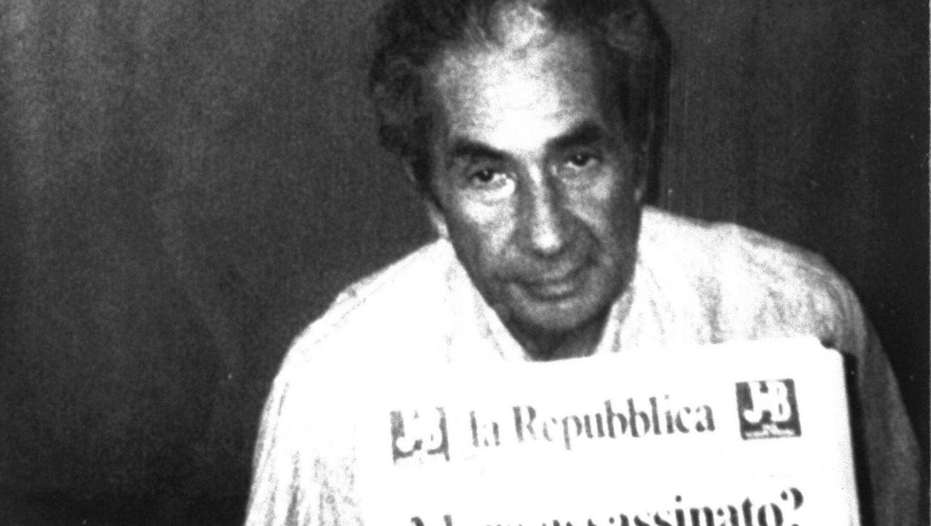 Il presidente della DC, Aldo Moro, rapito Il 16 marzo del 1978 - Sputnik Italia, 1920, 17.03.2021