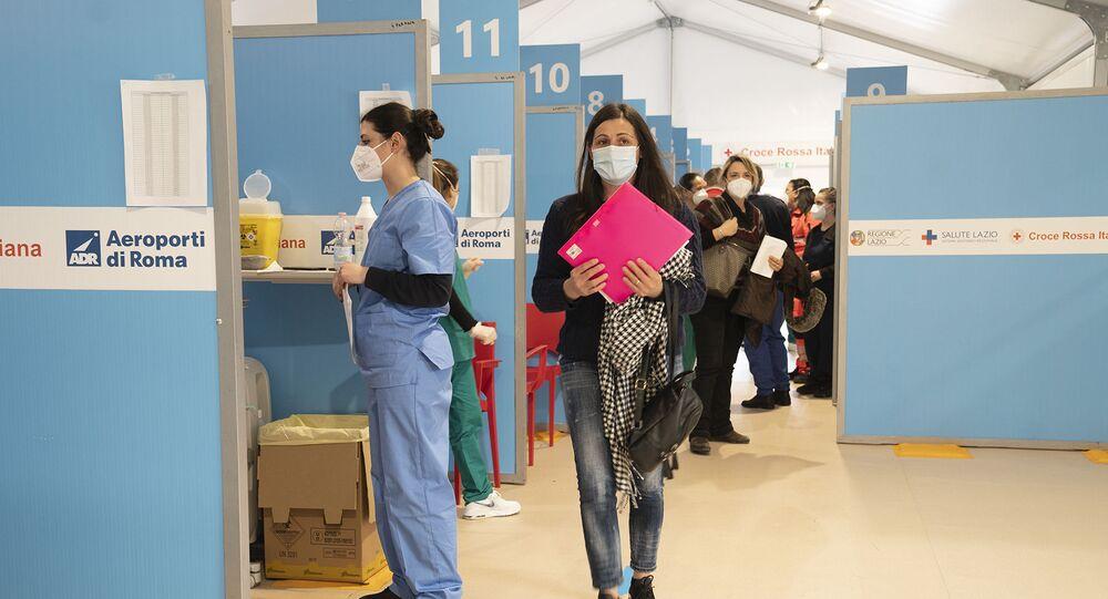 Centro vaccini di Fiumicino