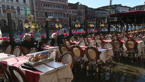 Dehor deserto a Venezia - Sputnik Italia