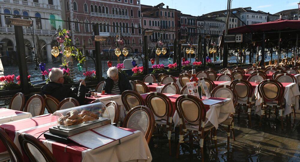 Dehor deserto a Venezia