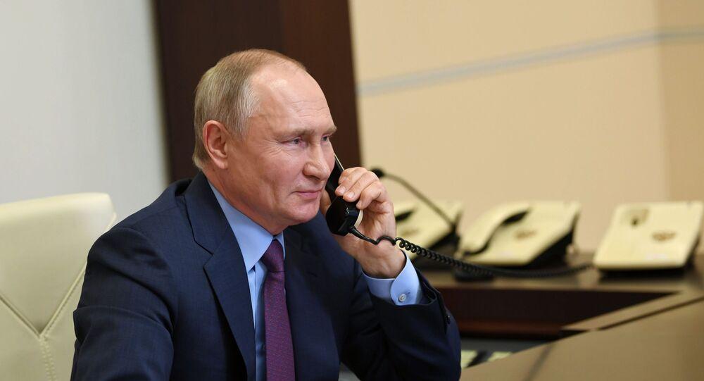 Putin a Biden: