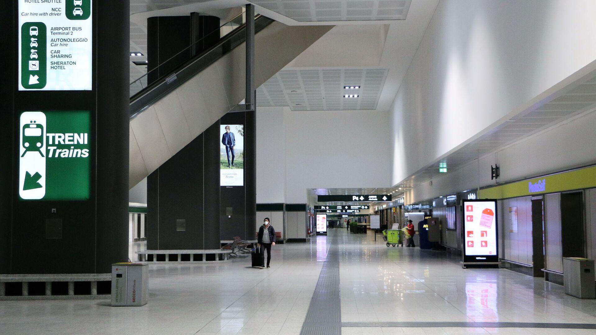 Aeroporto vuoto a Milano - Sputnik Italia, 1920, 14.07.2021