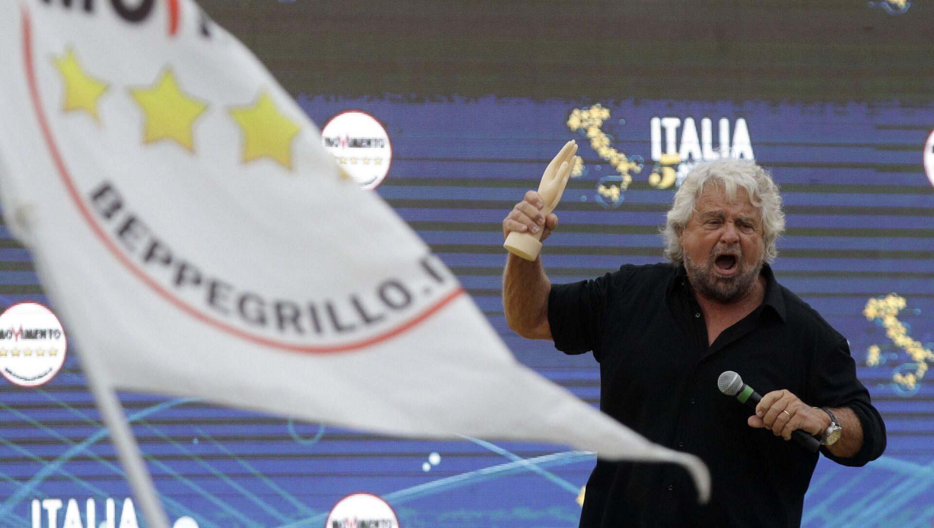 Beppe Grillo - Sputnik Italia, 1920, 23.04.2021