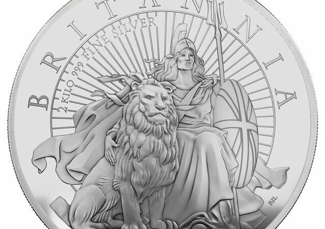 Moneta raffigurante Britannia come donna di colore 2021