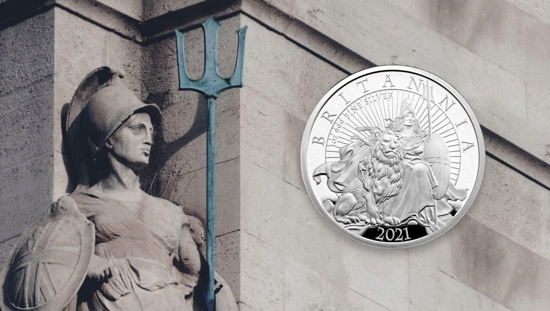 Regno Unito, la Zecca Reale conia nuova moneta che raffigura Britannia come donna di colore - Sputnik Italia, 1920, 19.03.2021