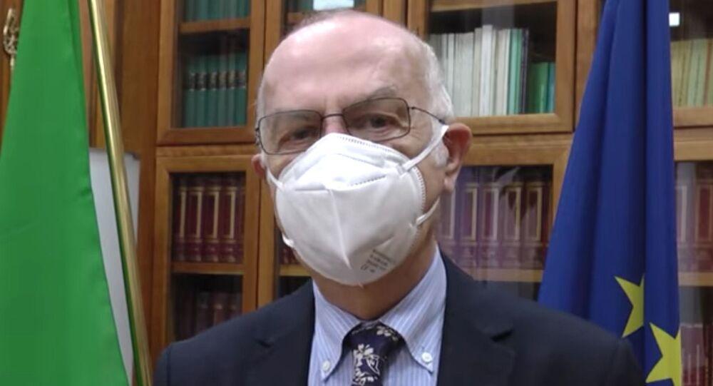 Il direttore Generale della Prevenzione del Ministero della Salute Giovanni Rezza