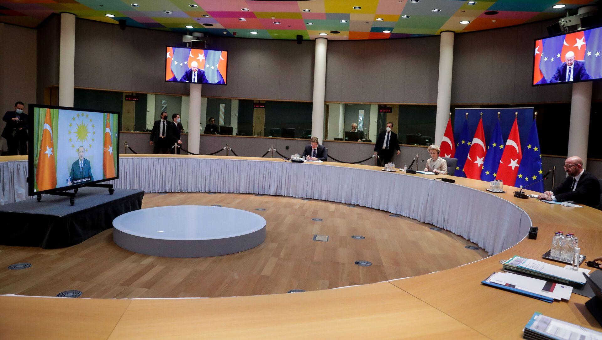 Summit UE - Turchia - Sputnik Italia, 1920, 13.04.2021