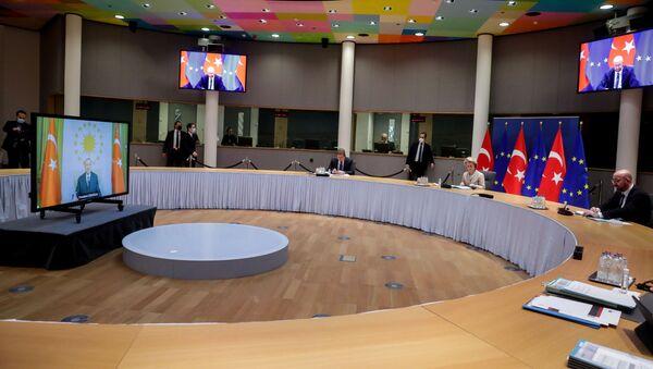 Summit UE - Turchia - Sputnik Italia