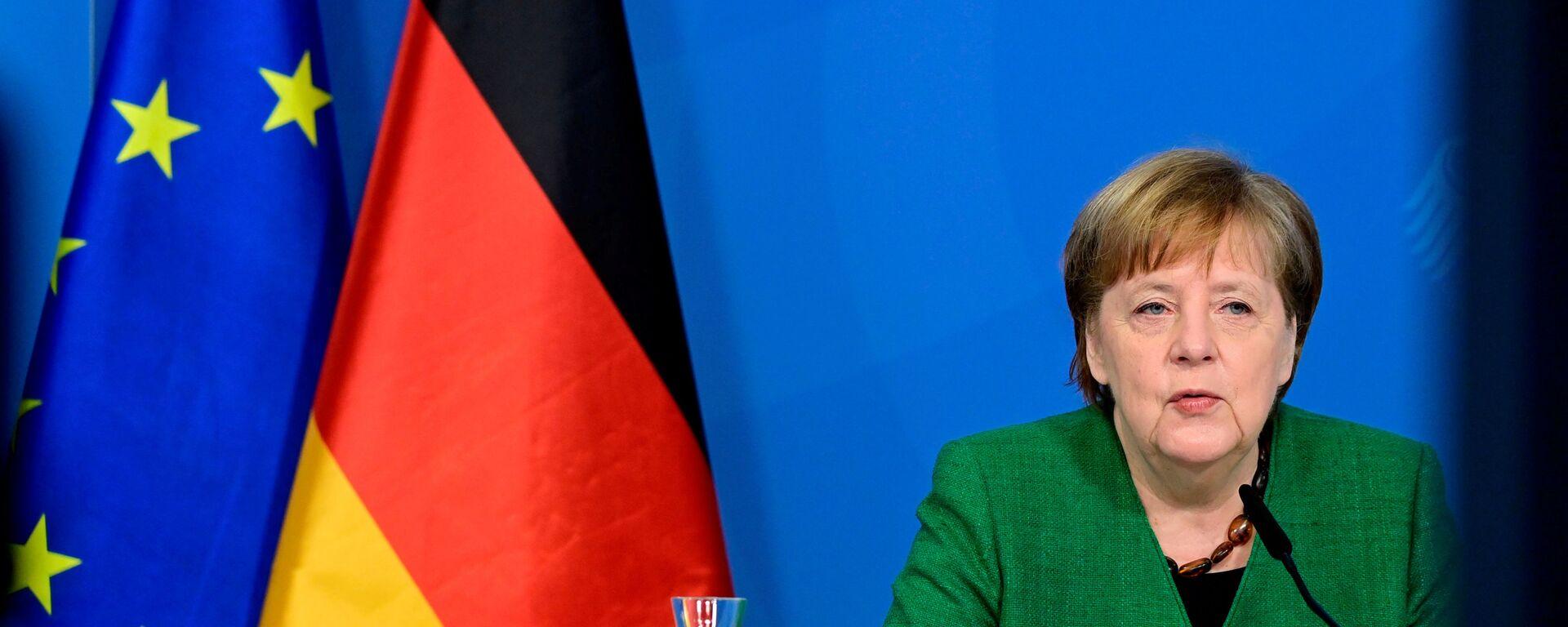 Angela Merkel - Sputnik Italia, 1920, 24.04.2021