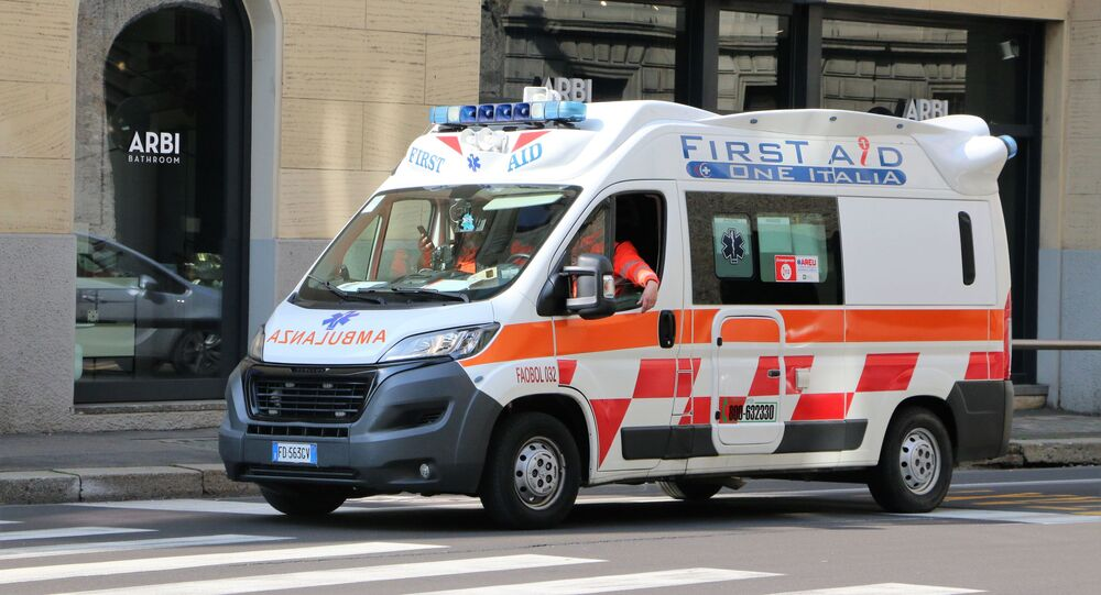 Ambulanza a Milano