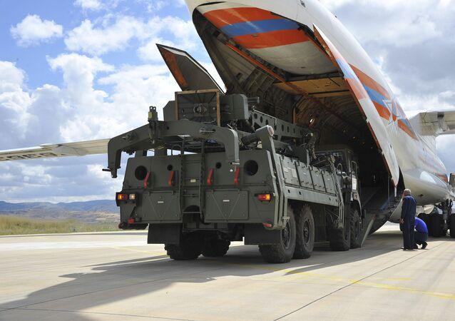 Consegna degli S-400 russi in Turchia (foto d'archivio)