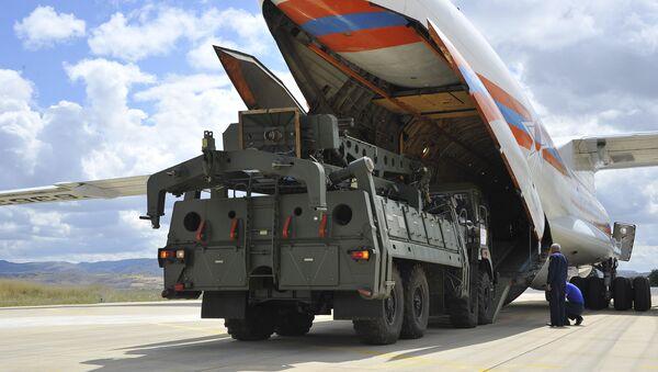 Consegna degli S-400 russi in Turchia (foto d'archivio) - Sputnik Italia