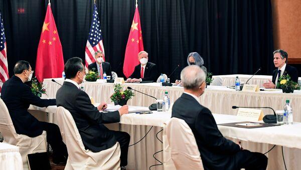 Colloqui sino-americani ad Anchorage, in Alaska - Sputnik Italia