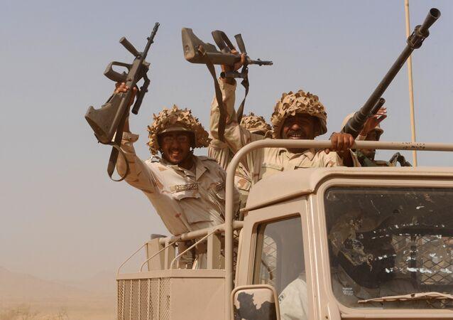 Militari sauditi