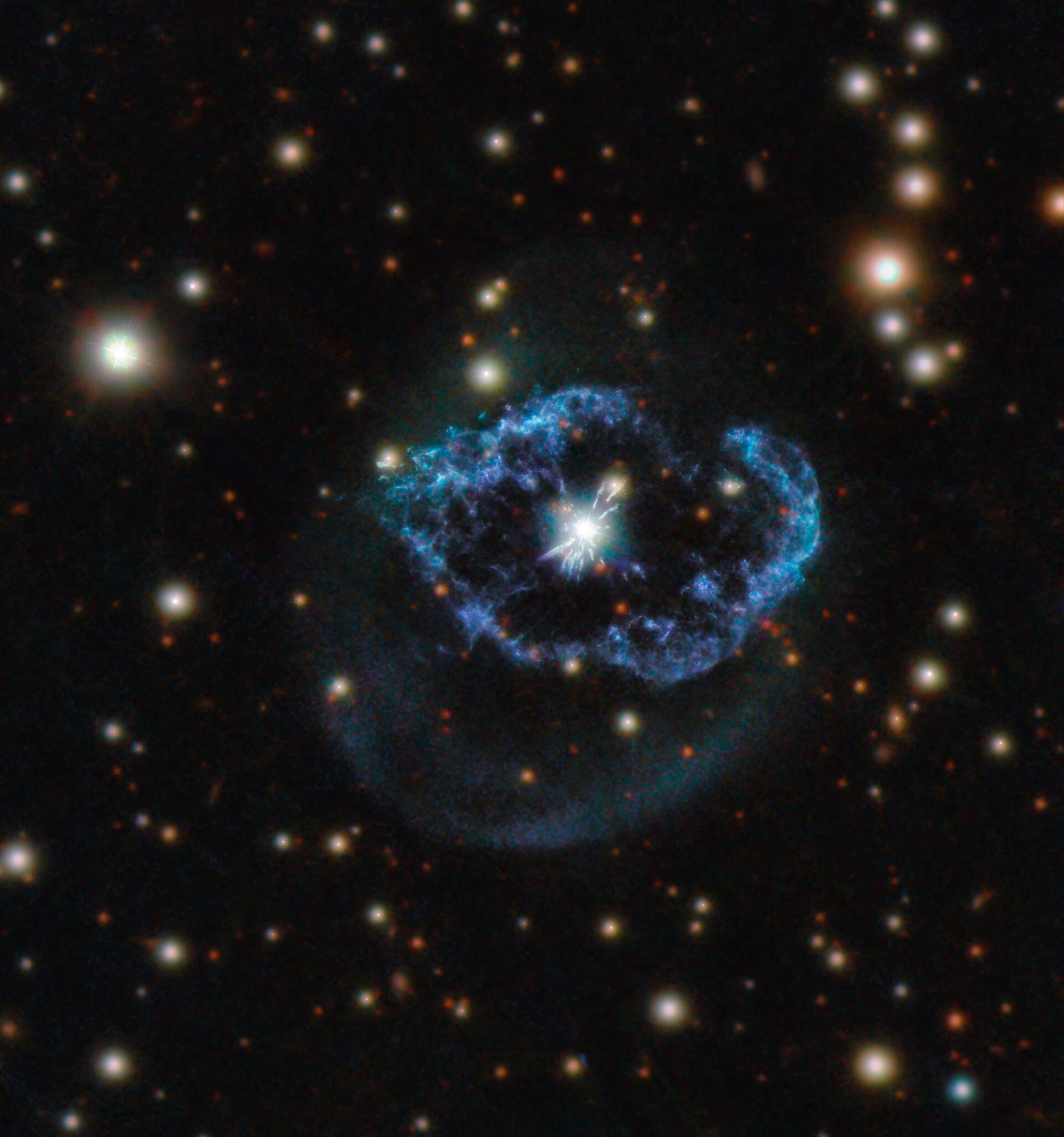 Abel 78, la nebulosa planetaria con la stella nata 2 volte - Foto - Sputnik Italia, 1920, 20.03.2021