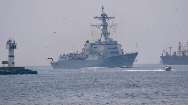 Marina russa segue cacciatorpediniere statunitense Thomas Hudner entrato nel Mar Nero - Sputnik Italia
