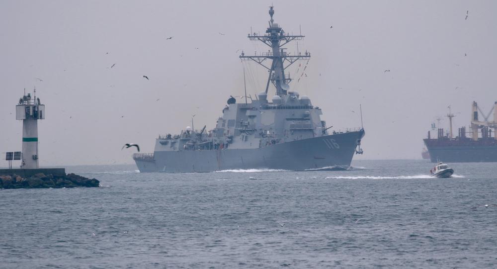 Marina russa segue cacciatorpediniere statunitense Thomas Hudner entrato nel Mar Nero
